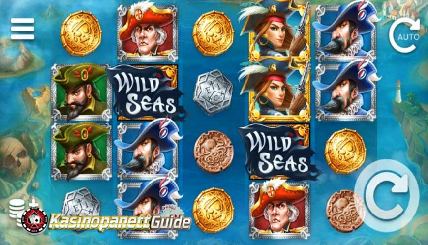 Game slot Wild Seas